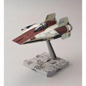 Star Wars - A-Wing Starfighter Bandai Model Kit - 1/72