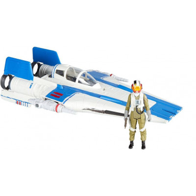 Star Wars Force Link 2.0 - A-wing Fighter and Resistance Pilot