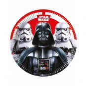 8 stk Papptallrikar 23 cm - Star Wars Final Battle