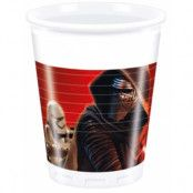 8 stk Star Wars VII Plastmuggar 200 ml - Star Wars