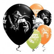Ballonger Star Wars Happy Birthday - 25-pack