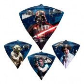 Folieballong Diamant Star Wars
