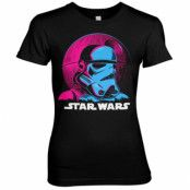 Star Wars - Colorful Trooper Girly Tee, Girly Tee
