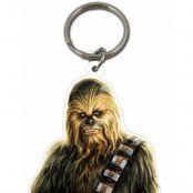 Star Wars Licensierad Chewbakka Nyckelring