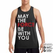Star Wars - May The Force Be With You Performance Singlet, CORE PERFORMANCE MENS SINGLET