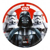 Star Wars Paper Party Plates - 23cm - 8-pack