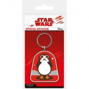 Star Wars - Porg Rubber Keychain