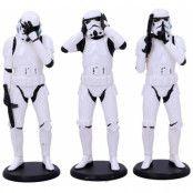 Star Wars - Three Wise Stormtroopers 3-Pack - 14 cm