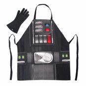 Star Wars Grillförkläde med Handske