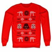 Star Wars AT-AT X-Mas Knit Sweatshirt, Sweatshirt