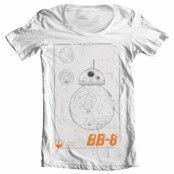 BB-8 Blueprint Wide Neck Tee, Wide Neck Tee