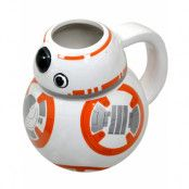 Star Wars Licensierad BB-8 3D Kopp