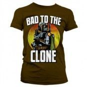 Bad To The Clone T-Shirt Girly T-Shirt, Girly T-Shirt