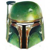 Licensierad Star Wars Boba Fett Pappmask