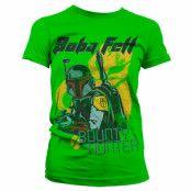 Star Wars Bob Fett - Bounty Hunter Girly T-Shirt