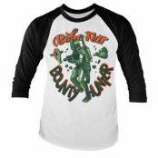 Star Wars - Boba Fett Baseball Long Sleeve Tee, Baseball Long Sleeve Tee
