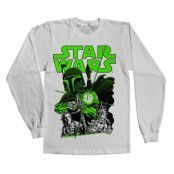 Vintage Boba Fett Long Sleeve Tee, Long Sleeve T-Shirt