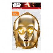 C-3PO Pappmask