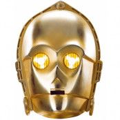 Licensierad Star Wars C-3PO Pappmask