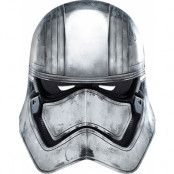 Licensierad Star Wars Captain Phasma Pappmask
