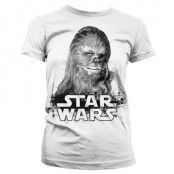 Chewbacca Girly T-Shirt, Girly T-Shirt