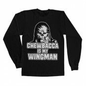 Chewbacca Is My Wingman Long Sleeve Tee , Long Sleeve T-Shirt