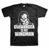 Chewbacca Is My Wingman T-Shirt, T-Shirt