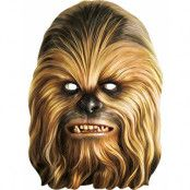 Licensierad Star Wars Chewbacca Pappmask