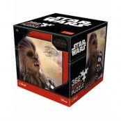 Licensierat Star Wars Chewbacca Pussel - 362 Nano Bitar