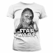 Star Wars Chewbacca Girly T-Shirt