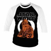 Star Wars Solo - Chewbacca Baseball 3/4 Sleeve Tee, Long Sleeve T-Shirt