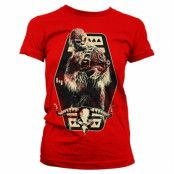 Star Wars Solo - Chewbacca Emblem Girly Tee, Girly Tee