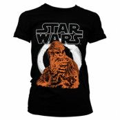 Star Wars Solo - Chewbacca Girly Tee, Girly Tee