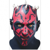 STAR WARS LATEX MASK DARTH MAUL