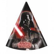 6 stk Partyhattar - Star Wars