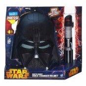 Darth Vader Mask med Röstförvrängare
