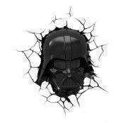 Star Wars Darth Vader 3D Vägglampa