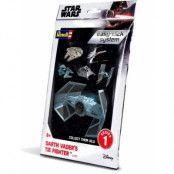 Star Wars - Level 2 Easy-Click Snap Model Kit Darth Vader TIE Fighter