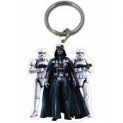 Star Wars Licensierad Darth Vader och Stormtrooper Nyckelring