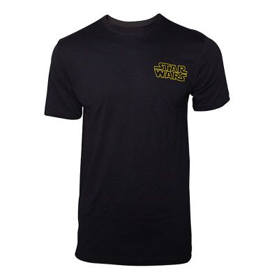 Star Wars Main Character List T-shirt - Medium