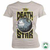 The Death Star Organic Girly Tee, 100% Organic Girly Tee