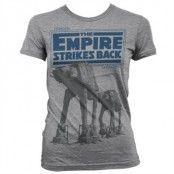 Empire Strikes Back AT-AT Girly T-Shirt, T-Shirt