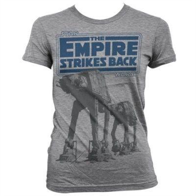 Empire Strikes Back AT-AT Girly T-Shirt, Girly T-Shirt