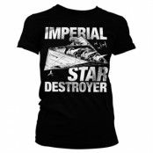 Imperial Star Destroyer Girly Tee, Girly Tee