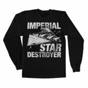 Imperial Star Destroyer Long Sleeve Tee, Long Sleeve T-Shirt