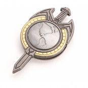 Star Trek TNG Mirror Universe - Terran Empire Magnetic Insignia Badge