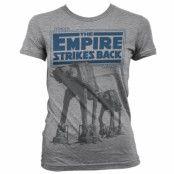 Star Wars Empire Strikes Back AT-AT Dam T-Shirt