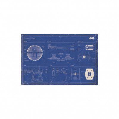 Star Wars, Maxi Poster - Imperial Fleet Blueprint
