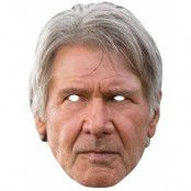 Licensierad Star Wars Han Solo Pappmask