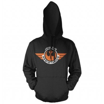 Join The Resistance Hoodie, Hooded Pullover